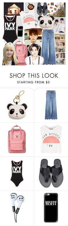 """summer with friends"" by ivyfanfic ❤ liked on Polyvore featuring Oris, RED Valentino, Fjällräven, Topshop, Ivy Park and Casetify"