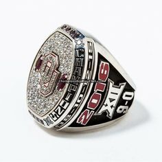 2016 Oklahoma Sooners NCAA Big 12 Championship Ring - ChampionshipRingClub.com