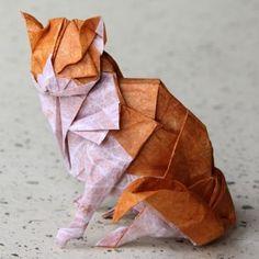 Origami Cat by Nyanko Sensei.