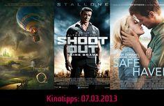 Die #Kinotipps: 07.03.2013! Unter anderem mit #Shootout und Safe Haven!