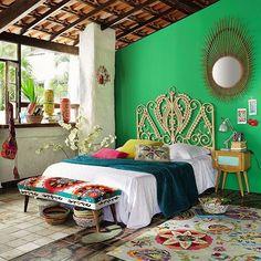 Casinha colorida: O novo estilo Boêmio Chic e eclético (2016)