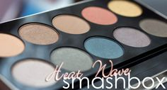 SMASHBOX Heat Wave Eye Shadow Palette Review | Magimania Beauty Blog http://www.magi-mania.de/smashbox-heat-wave-eye-shadow-palette-review/