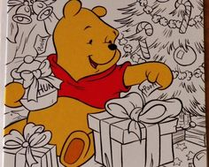 Free Shipping Christmas Winnie Pooh Coloring Greeting Card Newhttp://www.bonanza.com/listings/Christmas-Winnie-Pooh-Coloring-Greeting-Card-New/96964309