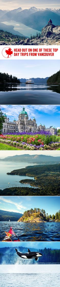 Recommended day trips from #vancouver