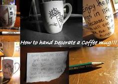 decorate coffee mug - Google Search