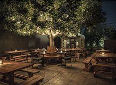 Restaurants in LA - Los Angeles Patios - Thrillist - - 17 Best Outdoor Bars amp; Restaurants in LA - Los Angeles Patios - Thrillist 17 Best Outdoor Bars amp; Restaurants in LA - Los Angeles Patios - Thrillist - Outdoor Restaurant Design, Deco Restaurant, Backyard Restaurant, Italian Restaurant Decor, Forest Restaurant, Backyard Cafe, Coffee Shop Design, Cafe Design, Brewery Design