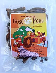 Tiny's Organic Dried Bosc Pears (3 pack) - No Added Sugar ** Want additional info? Click on the image.