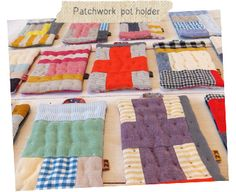 DIY Patchwork Pot Holders