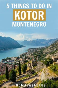 If we knew there would be so many amazing things to do in Kotor, Montenegro, we would have come here ages ago. Greece Cruise, Cruise Europe, Europe Travel Tips, Places To Travel, Travel Guides, Travel Destinations, Montenegro Kotor, Montenegro Travel, Slow Travel