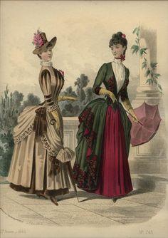 LA REVUE DE LA MODE  ... dated April 11, 1886