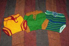 Little Fire Crochet Soaker & Skirty Pattern