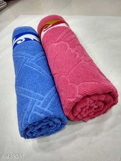 Checkout this latest Bath Towels_1000-1500 Product Name: *Classic Cotton Towels Pack Of 2* Fabric: Cotton Dimensions(LXB): 150 cm X 75 cm Description: It Has 2 Pieces Of Towels Work: Jacquard Work Country of Origin: India Easy Returns Available In Case Of Any Issue   Catalog Rating: ★4.2 (2123)  Catalog Name: Elegant Cotton Bath Towels Vol 6 CatalogID_46085 C71-SC1110 Code: 174-425030-6111