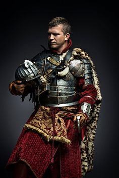 Winged Hussar. Beautiful gambeson. Perfect colour crimson.