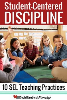 student-centered discipline is an essential teaching practice that supports social emotional learning. Student-centered discipline is a key teaching technique to promote and encourage social emotional learning in the classroom and school community. School Discipline, Classroom Discipline, Classroom Behavior, Classroom Rules, Positive Discipline, Classroom Ideas, Positive Behavior, Classroom Environment, Music Classroom