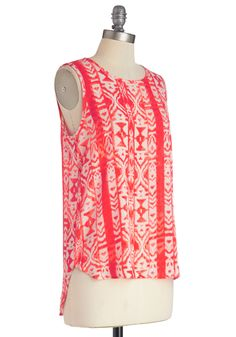 Worldly Travels Top, #ModCloth
