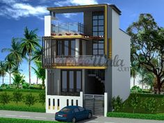 Small House Elevations Small House Front View Designs modern ...