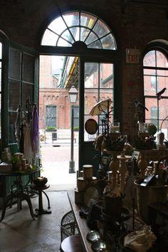 Blackbird Vintage - Distillery District - Toronto. Love this store!