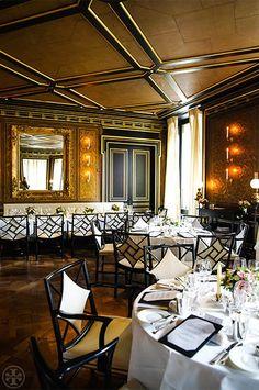 The decor at La Réserve | Vogue Dinner Party at La Réserve
