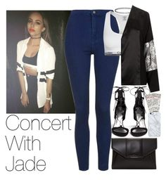 """Concert With Jade"" by zarryalmighty ❤ liked on Polyvore featuring Stuart Weitzman, Topshop, Calvin Klein Underwear, Unique, Givenchy, Uncommon, littlemix and jadethirlwall"