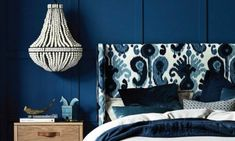 2016 Australian Interior Design Awards shortlist announced - The Interiors Addict Australian Interior Design, Interior Design Awards, Le Havre, Blue Rooms, Upholstered Beds, Bed Head, Leather Furniture, Minimalist Interior, Eclectic Style