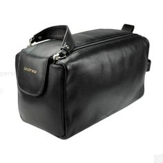 £34.95.Our Personalised Leather Wash Bag is a perfect combination of utility and style. It is smart, functional and durable.Measuring 24cm x 15cm x 11cm, crafted from pure leather with perfect attention to detail, this wash bag makes an ideal gift for a busy traveller.It comprises of a twin zip top cleverly designed with a pull handle that makes opening quite easy, to reveal a good sized main compartment. It further includes an additional side pocket also fitted with a zipper.You can…