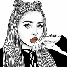 Lovely Black Drawing Girls IPhone Wallpapers 30 In by Black Drawing Girls IPhone Wallpapers Black Drawing Girls IPhone Wallpapers Tumblr Girl Drawing, Tumblr Sketches, Tumblr Drawings, Girly Drawings, Outline Drawings, Art Sketches, Drawing Wallpaper, Girl Wallpaper, Cartoon Wallpaper