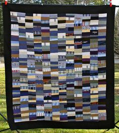 Custom Memory Quilt Made From Clothing by Mamaka Mills Quilts, via Flickr