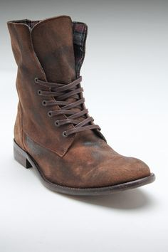 Rogue Darky Boots. Great inner lining for fold-down boot style.