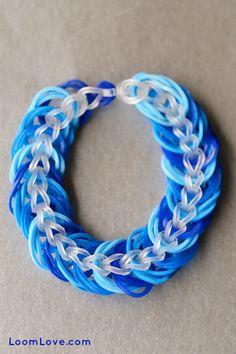 Triple link chain tutorial.