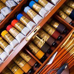 Charvin Extra Fine and Fine Oil Paint Sets - JerrysArtarama.com