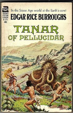 -Tanar of Pellucidar, A Science Fiction book by Edgar Rice Burroughs