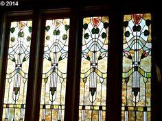 Leaded Glass in a 1911 bungalow. 3834 NE GLISAN ST, Portland, OR