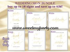 wedding gold sign set,gold wedding signs set,wedding gold signs bundle,wedding signs bundle,wedding signs set,wedding gold signs kit,wedding bar sign,alcohol sign,cards and gifts sign,wedding favors sign,wedding guest book sign,wedding programs sign,wedding photo booth sign,cigar bar sign,cocktails sign,seating chart sign,in loving memory sign,wedding bathroom sign,wedding toilet sign,memory sign,wedding welcome sign,sweetmyparty.com