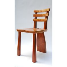 Mahogany and Cherry dining chair by Joseph Thompson Woodworks