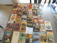 #ad ASSORTED WESTERN BOOKS 32 books various authors Hogan Brand Short lot #7 http://rover.ebay.com/rover/1/711-53200-19255-0/1?ff3=2&toolid=10039&campid=5337950191&item=323175576939&vectorid=229466&lgeo=1