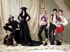 From the Archives: Punk Fashion in Vogue - Vogue Daily - Fashion and Beauty News and Features - Vogue
