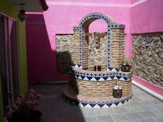 Resultado de imagen de pozos de agua decorados