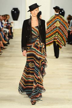 Ralph Lauren - Runway - Spring 2013 Mercedes-Benz Fashion Week