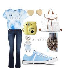 cuties by polyvoreslide on Polyvore featuring polyvore fashion style Converse Charlotte Russe Kate Spade Marc Jacobs