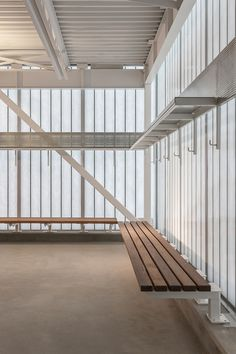 John Fry Sports Park Pavilion | the marc boutin architectural collaborative; Photo: Bruce Edward of Yellow Camera | Archinect