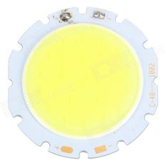 10W 800lm 6000K Round Shaped COB LED Module (29~36V). Color White + Yellow + Multi-Colored Material Aluminium Quantity 1 Piece Chip Brand Epistar Chip Type Taiwan XinShiJi Emitter Type COB Power 10W Rated Voltage Others,29-36 V Theoretical Lumens 1000 lumens Actual Lumens 700~800 lumens Current 300 mA Total Emitters 1 Color BIN White Color Temperature 6000K Working Temperature -20'C ~ +60 ?? Beam Angle 180 ?a Life Span 50000 Hour Packing List 1 x 10W LED module. Tags: #Lights #Lighting…