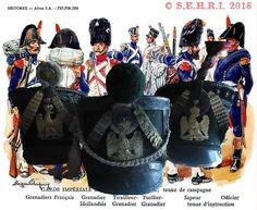 Shakos Jeune Garde Musée de l'Empéri Wreaths, Halloween, Decor, Napoleonic Wars, Decoration, Door Wreaths, Deco Mesh Wreaths, Decorating, Floral Arrangements
