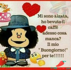 Check out image on . Mafalda Quotes, Snoopy, Day For Night, Emoticon, Good Morning, Minnie Mouse, Humor, Facebook, Disney Characters