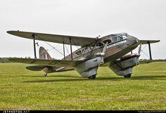 Photo of G-AGJG De Havilland DH-89A Dragon Rapide by IAN CHANTLER
