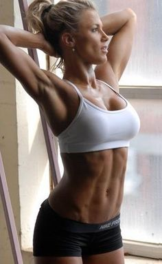 Tamika Webber, inspiration of the day. Fitness model AND emergency paramedic!