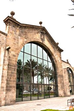 The Maritime Museum of Barcelona is located in the building of the Atarazanas Reales, close to the harbour and at the foot of the Montjuïc mountain. Barcelona Tourism, Maritime Museum, Brooklyn Bridge, Seaside, Mountain, Culture, History, City, Building