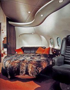 1969... Hugh Hefner's jet
