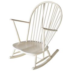 Rocking Chair by Lucian Ercolani for Ercol | From a unique collection of antique and modern rocking chairs at https://www.1stdibs.com/furniture/seating/rocking-chairs/