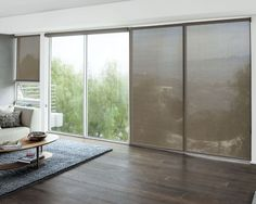 Roller shades on a sliding glass door indoor home decor solar roller shades 17280 planetlyrics Image collections