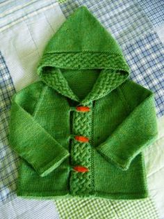 I'm not fond of babies, but I'm very fond of baby knits. Wonder what that says about me.